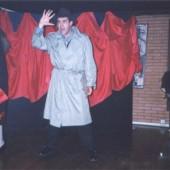 Carlos Blanco actuando