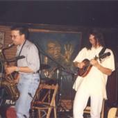 Fía na Roca tocando no escenario